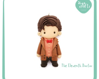 Doctor Who Polymer Clay The Eleventh Doctor Matt Smith Cell Phone Charm – Doctor Who Collection