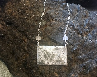 Dandelion Necklace Moonstone Necklace Wish Necklace Silver dandelion necklace  Dandelion pendant Dandelion Seed Dandelion Jewelry Silver