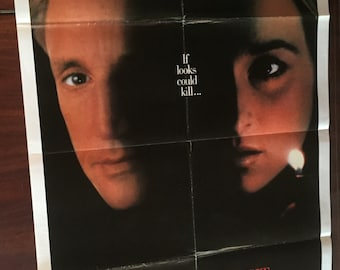 Still of the Night Original Movie Poster / Meryl Streep Vintage Film Poster / Promotional Movie Theater Poster