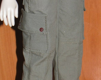 Cargo pants  for  MiniFee girl 10 classic colors available  .