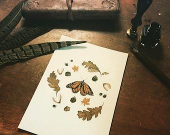 Seasons of Life - Autumn Art Print