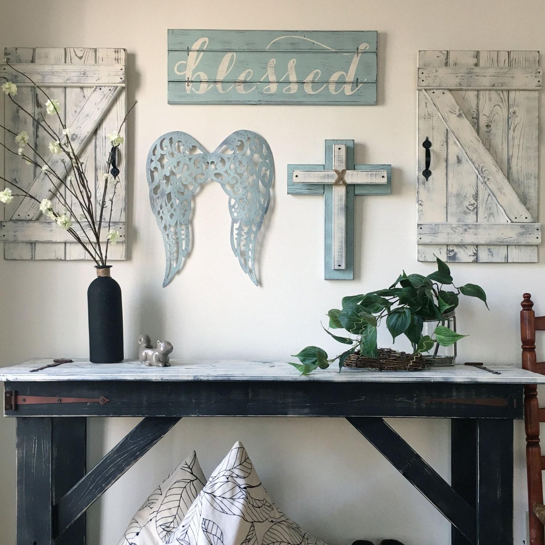 3 Piece Set Christian Wall Art For Nursery By Elevenowlsstudio