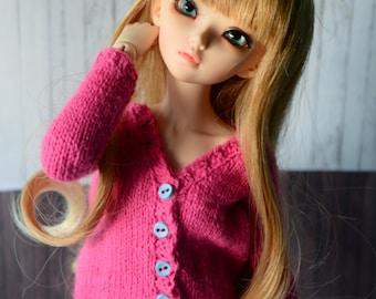 BJD acrylic cardigan for minifee MSD 1/4 bjd dolls