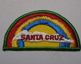 Vintage Santa Cruz Rainbow Patch