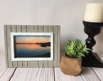 Picture Frame - Rustic Home Decor - Rustic Picture Frame - 4x6 Frame - Farmhouse Decor - Wood Picture Frame - Wood Frame - Wall Decor