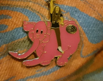 Very Cool Bassnectar Pink Elephant Pin