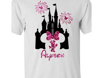 Disney Shirt Personalized Family Vacation