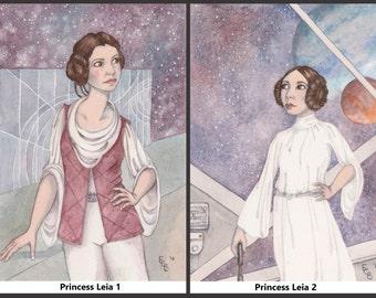 ORIGINAL ARTWORK: Princess Leia