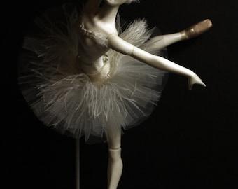 "Bjd resin doll WHITE SWAN, ODETTE (New collection ""Ballet"")"