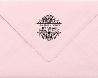 Custom Return Address Stamp, Wedding Address Stamp, Change of Address Stamp, Modern Address Stamp, Wedding Shower Gift, Teacher Gift 488