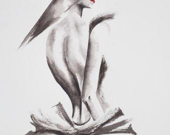 She - GICLEE PRINT on fine art paper