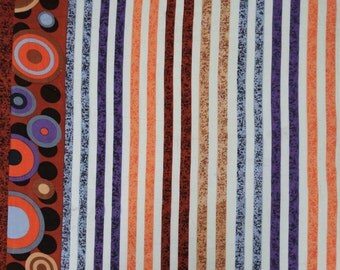 """Dress Making Fabric, Curtain Cotton Fabric, Decor Fabric, Stripe Printed, Apparel fabric, Sewing Craft, 41"""" Inch Fabric By The Yard ZBC6844A"""