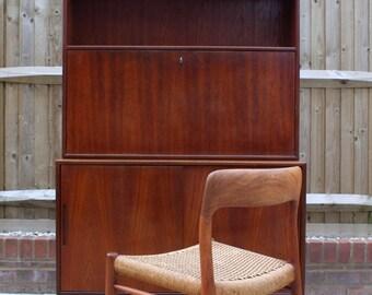 SOLD: Stunning Mid Century Teak Sideboard Bureau Retro Vintage Danish 50s 60s 70s