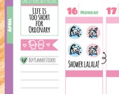 Munchkins - Icon Shower Time Planner Stickers (M200)