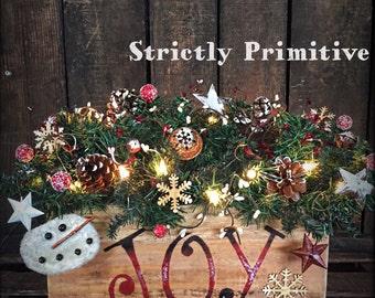 Primitive Christmas Etsy - Primitive Christmas Tree Ideas