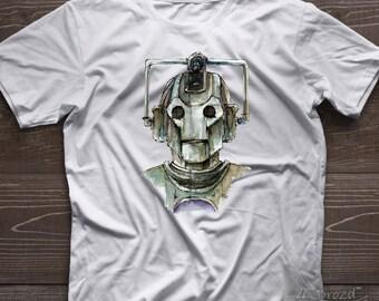 Doctor Who Shirt, Doctor Who Tshirt, Cyborg Shirt Dr Who Shirt Doctor Who Clothing Doctor Who Women Shirt Doctor Who Men Shirt Cyborg doctor