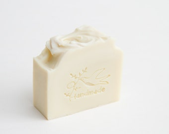 Unscented Castile Soap, Handmade with 100% Olive Oil