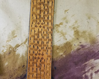 Masonic Bookmark, 3 5 7 9 tan
