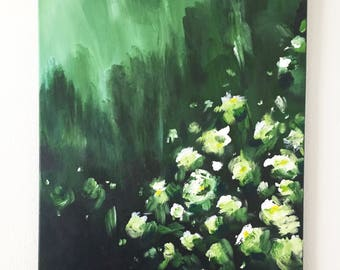 Painting - Green and Bloom