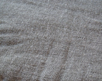 Coarse linen khaki - mud