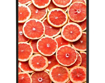 Food Photography, Kitchen printable Art, Food Art print ,Grapefruit  print,food print,citrus Instant Download,Digital Photo
