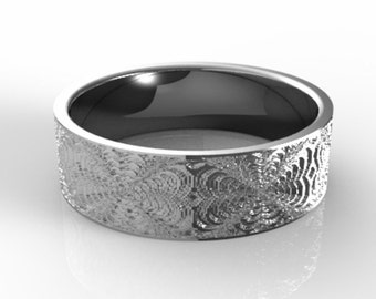 Pattern Platinum Wedding Band, Men's Platinum Wedding Ring, Unique Platinum Ring, Platinum Ring, Men's Wedding Ring, Men's Platinum Ring