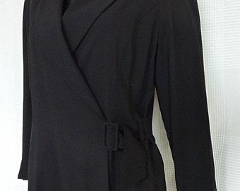Karl Lagerfeld 80s black jacket size 40 (Size L)