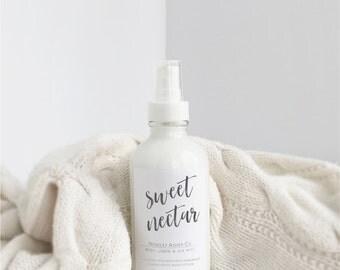 Sweet Nectar Body/Linen/Room Mist-body spray-room spray-linen spray-body mist-linen mist-room mist-air mist-fragrance-perfume