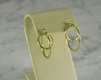 14k Gold earrings (pierced)