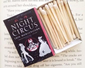 Night Circus Book Matches // Erin Morgenstern // Stocking Stuffers