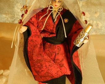 Allegiance : Japanese anticipation ooak doll