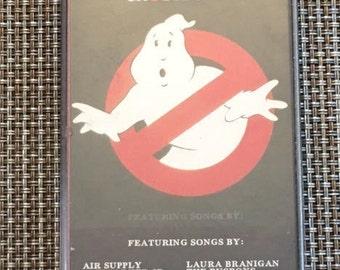Ghostbusters Soundtrack Original Cassette Tape Soundtrack
