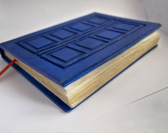 River Song Journal River Song diary Doctor Who Journal Doctor Who Notebook Tardis journal Tardis diary Tardis Notebook Travel Blue journal
