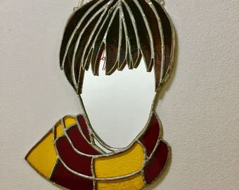 """Harry Potter """"Altered Egos"""" mirror - a real life Hogwarts filter, perfect for photos!"""