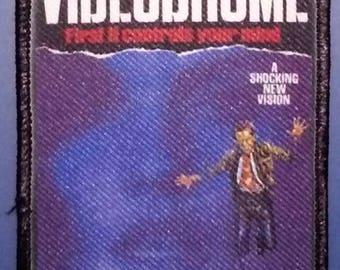 VIDEODROME - Full color PATCH - HORROR / Sci-Fi movie - David Cronenberg