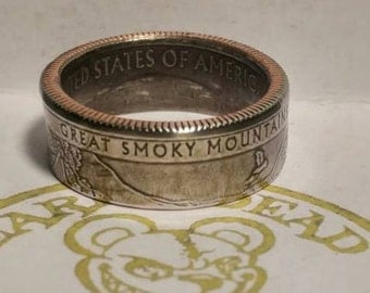 Great Smoky Mountains State Quarter ring