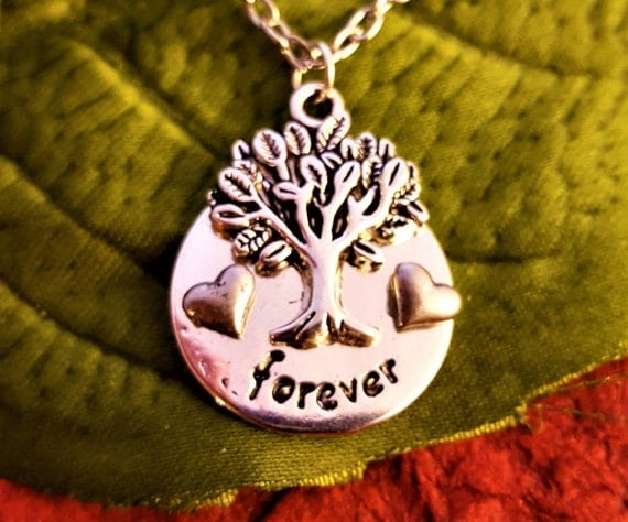 LDS Jewelry, Families are Forever, LDS Charms, Forever Family Necklace, Gifts for Mom Mother-in-Law, Grandma Gift, Family Heart Charms