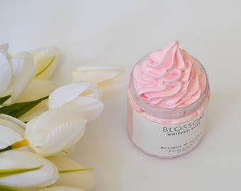 Whipped Soap, Blossom Floral, Cream Soap