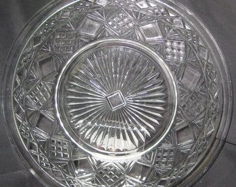 """Big Top """"Gothic"""" 8"""" luncheon plate"""