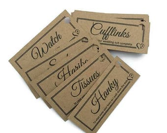 Groom box gift tags, Groom gift idea, groom survival kit, groom gifts, wedding groom gift, groom gift from bride, groom box labels,