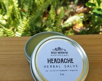 Headache Herbal Salve