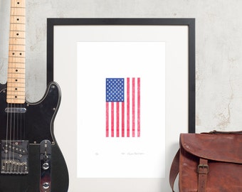 Fine Art USA Flag - 11x17