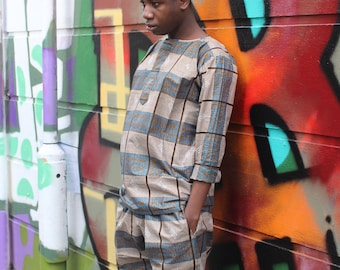 African Trousers - Allagi Trousers - Kente Trousers - Festival trousers - Wax Print trousers