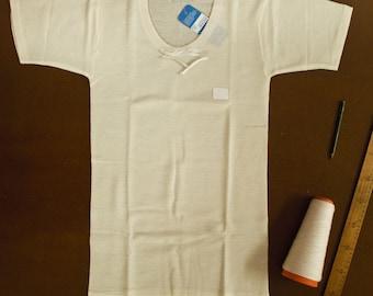 Women's 100% MERINO Wool undershirt short sleeve - pure virgin merino wool women's underwear - Lightweight woolen underwear - Breathable