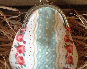 Handmade Clasp Purse - Flowers