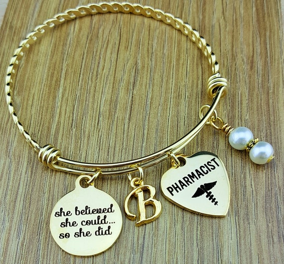 Gold Pharmacy Graduation Pharmacist Gift Graduation Gift Graduation Gift for Her Senior 2017 Senior Gifts Graduation Gift for Daughter