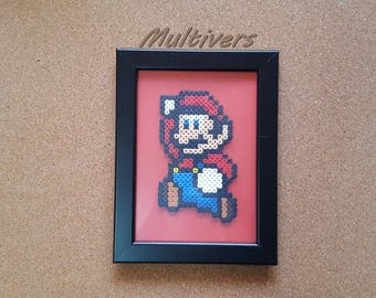 Super Mario Nintendo Video Games Jump table [Pixel Art Hama beads]