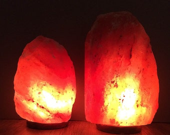 Himalayan Salt Lamps Georgia : Himalayan salt lamp Etsy
