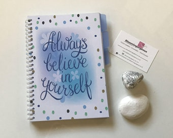 NEW Food Diary Journal - Diet Planner - Slimming World Compatible - Menu Planning - Notebook -Tracker ( 3 Months) - PLANNER 6 + DIVIDERS