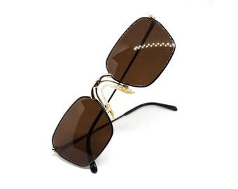 Iconic PORSCHE design by CARRERA sunglasses mod. 5641 col 91 , high luxury glasses made in Austria , 1980s Deadstock